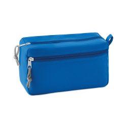 Borseta fara PVC, poliester, royal blue