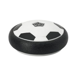 Hover ball cu lumina led schimbatoare, Everestus, HB03, polipropilena, spuma, alb, negru, saculet sport inclus
