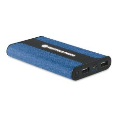 Baterie textil 6000 mAh, Item with multi-materials, blue