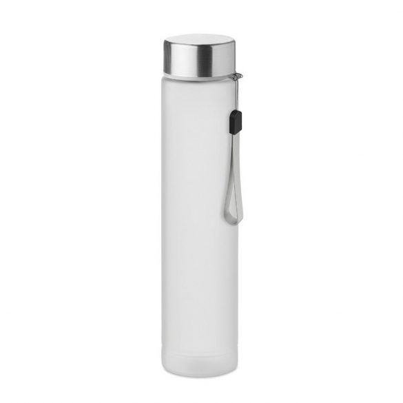 Sticla de voiaj 300 ml, capac din otel inoxidabil, Everestus, UHS01, tritan, alb