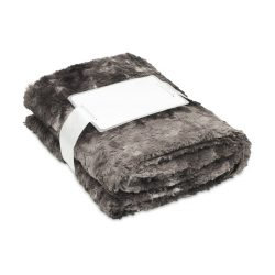 Patura blana artificiala 120x150 cm, lana, Everestus, PA03, gri