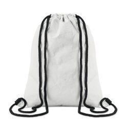 Sac cu cordon din Tyvek, Item with multi-materials, white