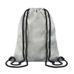 Sac cu cordon din Tyvek, Item with multi-materials, silver
