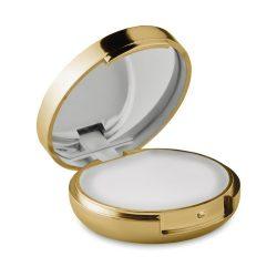 Oglinda balsam de buze, ABS, gold