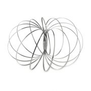 Cercuri antistres, otel inoxidabil, Everestus, ABE25, negru