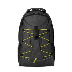 Rucsac cu accesorii luminoase, 600D poliester, Everestus, RU23, verde, saculet de calatorie si eticheta bagaj incluse