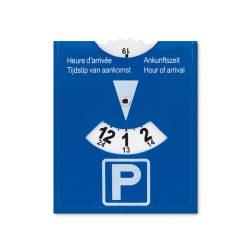 Card parcare din pvc, plastic, blue