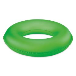Inel gonflabil, pvc, neon green