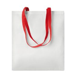 Sublimation shopping bag, poliester/bumbac, red