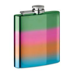 Plosca slim 175 ml, Everestus, 20IAN2186, Multicolor, Metal