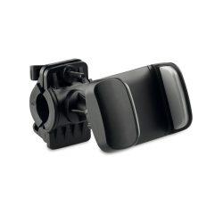 Suport telefon pt. bicicleta, materiale multiple, black