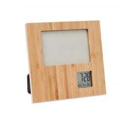 Ramafoto cu statie meteo, Item with multi-materials, wood