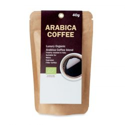 Cafea organica Arabica de 40 g, Item with multi-materials, beige