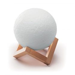 Boxa BT in forma de Luna, Item with multi-materials, white
