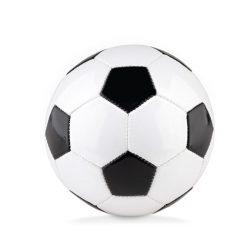 Minge mica de fotbal, diametru 15 cm, Everestus, 20IAN216, PVC, Alb, Negru