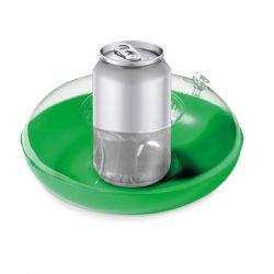 Suport gonflabil pentru pahar, PVC, green