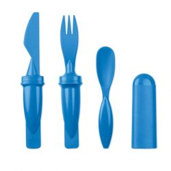 Set de tacamuri 3 in 1, Item with multi-materials, royal blue
