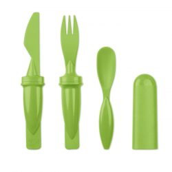 Set de tacamuri 3 in 1, Item with multi-materials, lime