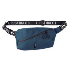 Borseta cu fermoar rezistent la apa, Festibax by AleXer, 20IAN419, Poliester 300D, Albastru