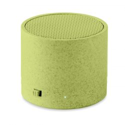 Boxa BT in carcasa de paie, Item with multi-materials, green