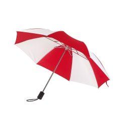 Regular Umbrela de buzunar, rosu si alb