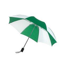 Regular Umbrela de buzunar, verde si alb
