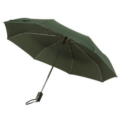 Express Umbrela automata de buzunar, verde inchis
