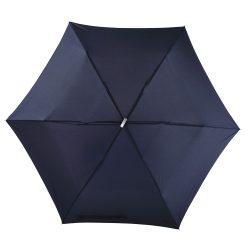 Flat Mini umbrela subtire de buzunar, albastru marin