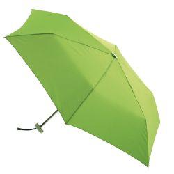 Flat Mini umbrela subtire de buzunar, verde deschis