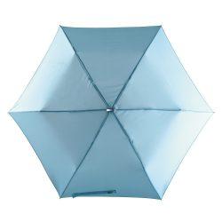 Flat Mini umbrela subtire de buzunar, albastru deschis