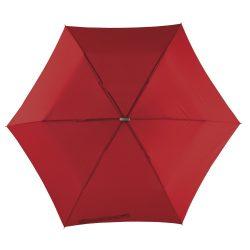 Flat Mini umbrela subtire de buzunar, rosu inchis