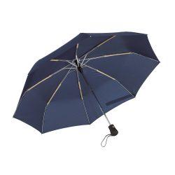 Umbrela pliabila 97 cm, inchidere si deschidere automata, albastru marin, Everestus, UP03BA, metal, aluminiu, poliester