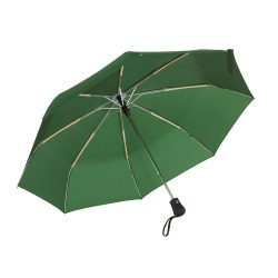 Umbrela pliabila 97 cm, inchidere/deschidere automata, verde inchis, Everestus, UP07BA, metal, aluminiu, poliester
