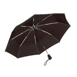 Umbrela pliabila 97 cm, inchidere si deschidere automata, negru, Everestus, UP05BA, metal, aluminiu, poliester