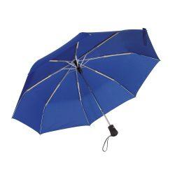 Umbrela pliabila 97 cm, inchidere si deschidere automata, albastru, Everestus, UP02BA, metal, aluminiu, poliester