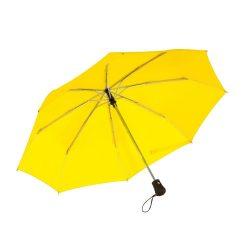 Umbrela pliabila 97 cm, inchidere si deschidere automata, galben, Everestus, UP04BA, metal, aluminiu, poliester