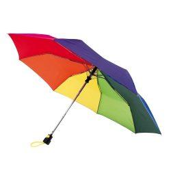 Prima Umbrela automata de buzunar, curcubeu