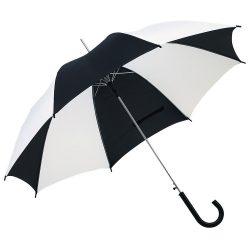 Disco Umbrela automata, negru si alb