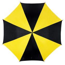 Disco Umbrela automata, negru si galben