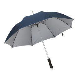 Joker Umbrela din aluminiu si fibra de sticla, albastru marin si argintiu