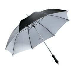 Joker Umbrela din aluminiu si fibra de sticla, negru si argintiu
