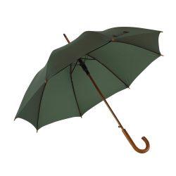 Boogie Umbrela automata din lemn, verde inchis