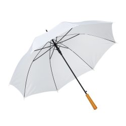 Umbrela automata 103 cm, Everestus, 20IAN684, Alb, Metal, Poliester