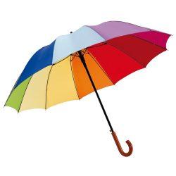 Umbrela Golf 125 cm, 12 segmente, multicolor, Everestus, UG12RT, fibra de sticla, poliester
