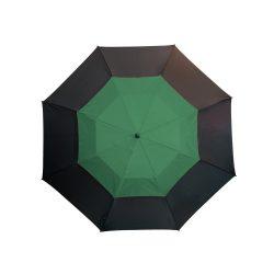 Mosun Umbrela golf, negru si verde inchis