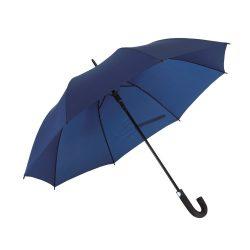 Umbrela golf automata 119 cm, maner curbat, Everestus, 20IAN763, Albastru, Metal, Poliester