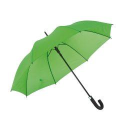 Umbrela golf automata 119 cm, maner curbat, Everestus, 20IAN768, Verde, Metal, Poliester
