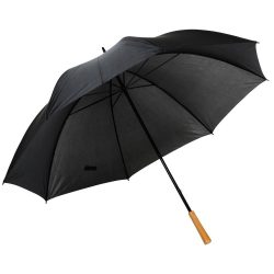 Umbrela de golf RAINDROPS, metal, poliester, negru
