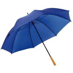 Umbrela de golf RAINDROPS, metal, poliester, albastru