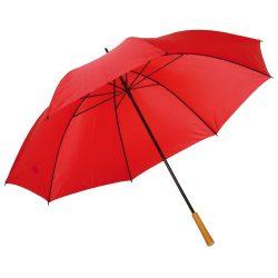 Umbrela de golf RAINDROPS, metal, poliester, rosu
